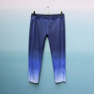 Sweaty Betty Ombre Crop Run Leggings Size L